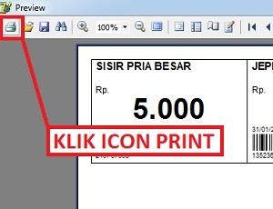 print barcode