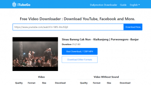 download video youtube menggunakan keepvidpro