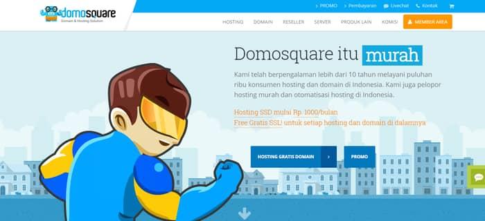 hosting terbaik domosquare