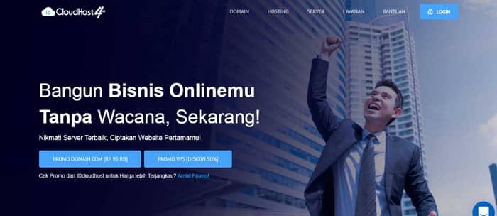 hosting terbaik idcloudhost