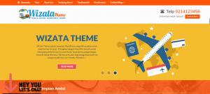 wizata theme template travel wordpress