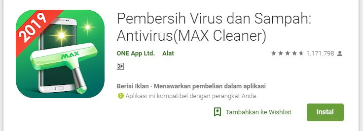 aplikasi pembersih ram max cleaner