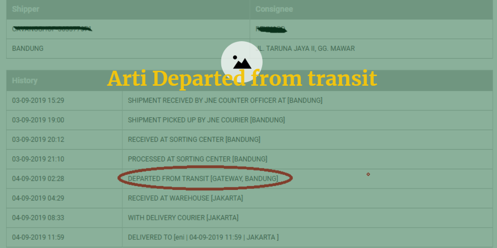 arti Departed from transit gateway