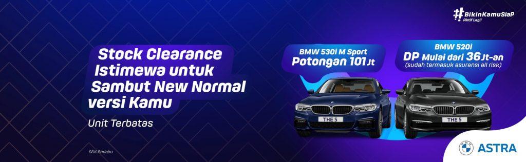 Stock Clearance mobil baru