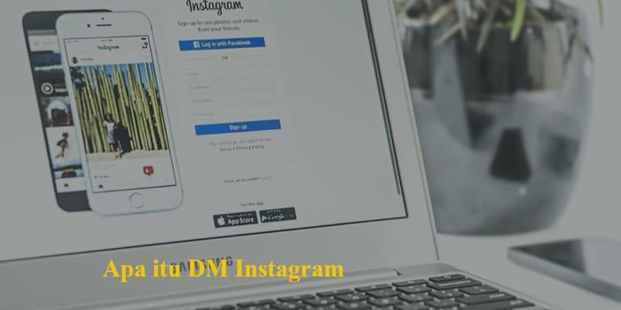 apa itu Dm instagram