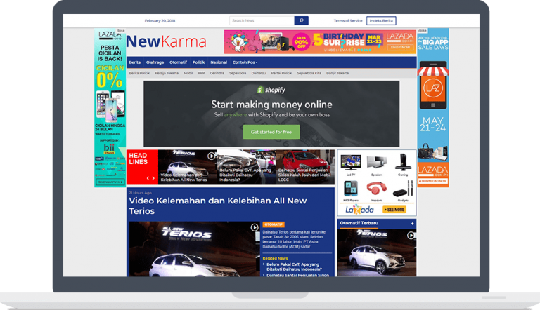 preview newkarama theme